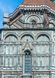 Cathédrale de Florence, détail architectural, Italie Photos libres de droits