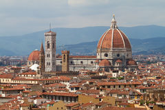 Cathédrale de Florence, Toscane, Italie Images libres de droits