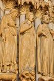 Cathédrale de Frances, de Chartres dans Eure et Loir image libre de droits