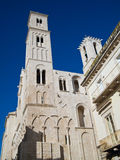 Cathédrale de Giovinazzo. Apulia. Photographie stock libre de droits