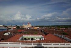 45 - cathédrale de Grenade Image libre de droits