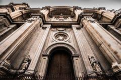 45 - cathédrale de Grenade Images libres de droits
