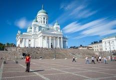 Cathédrale de Helsinky Photo libre de droits
