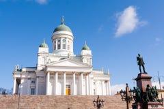 Cathédrale de Helsinky Photos libres de droits