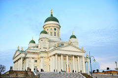 Cathédrale de Helsinky Image stock