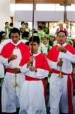 Cathédrale de Josephs de saint dans le cuisinier Islands de Rarotonga Photo stock