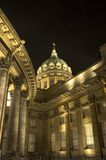 Cathédrale de Kazan à St Petersburg, Russie Photographie stock libre de droits