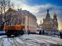 Cathédrale de Kazan Image stock