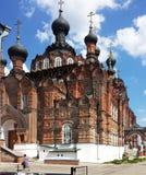 Cathédrale de Kazan dans le shamordino couvent Photographie stock libre de droits