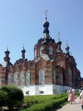 Cathédrale de Kazan dans le shamordino couvent Image stock