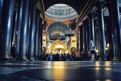 Cathédrale de Kazan dans le St Petersbourg Images libres de droits