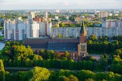 Cathédrale de Kenigsberg Kaliningrad Photographie stock libre de droits