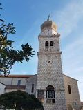 Cathédrale de Krk Photos stock