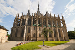 Cathédrale de Kutna Hora Images stock
