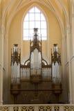 Cathédrale de l'acceptation de notre Madame - organe de pipe photographie stock