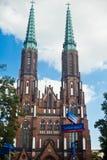 Cathédrale de l'archange Michael et rue Florian Photographie stock