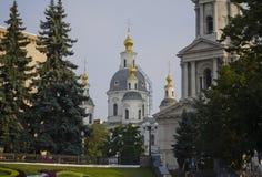 Cathédrale de l'hypothèse, Kharkov Photos libres de droits