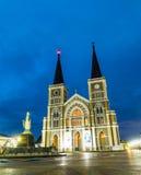 Cathédrale de la conception impeccable Chantaburi Thaïlande Images stock