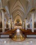 Cathédrale de la conception impeccable de Fort Wayne photos stock