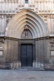 Cathédrale de la croix et du saint saints Eulalia, Barcelone photographie stock libre de droits
