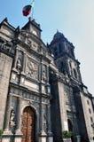 Cathédrale de la métropolitaine de Mexico Photo stock