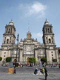 Cathédrale de la métropolitaine de Mexico Image stock