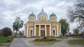 Cathédrale de la nativité dans Tver Images libres de droits
