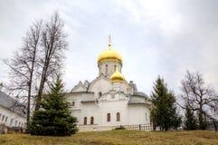 Cathédrale de la nativité de la Vierge Monastère de Savvino-Storozhevsky Zvenigorod, Russie photos libres de droits