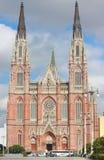 Cathédrale de La Plata Photographie stock libre de droits