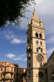 Cathédrale de la Sicile, Messine Photos stock