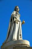 Cathédrale de la statue St.Pauls de la Reine Anne Photos stock