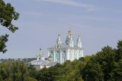Cathédrale de la supposition de Vierge Marie bénie Photo libre de droits