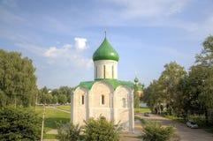 Cathédrale de la transfiguration Pereslavl, Russie photographie stock