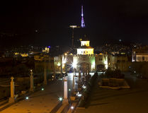 Cathédrale de la trinité sainte Tbilisi, la Géorgie Image libre de droits