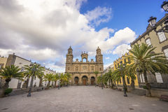 Cathédrale de Las Palmas de Gran Canaria Photo libre de droits