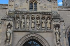 Cathédrale de Leicester Photos libres de droits