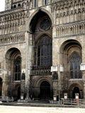 Cathédrale de Lincoln, entrée principale Photographie stock libre de droits