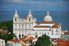 Cathédrale de Lisbonne Photos libres de droits