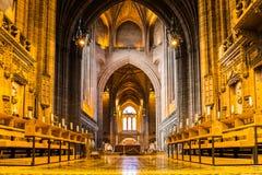 Cathédrale de Liverpool à Liverpool, R-U Images stock
