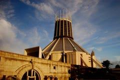 Cathédrale de Liverpool image libre de droits