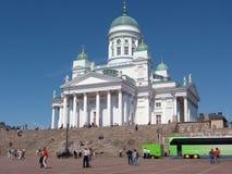Cathédrale de Lutheran de Helsinki Images libres de droits
