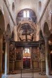 Cathédrale de métropole de Mystras Photos libres de droits