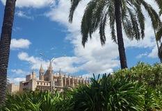Cathédrale de Majorca Photographie stock libre de droits