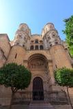 Cathédrale de Malaga Images libres de droits