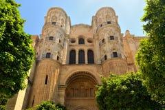 Cathédrale de Malaga Image stock
