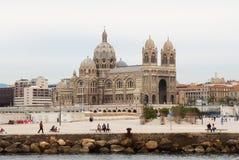 Cathédrale de Marseille, France Photographie stock