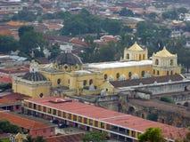 Cathédrale de Merced de La à l'Antigua Guatemala Photographie stock libre de droits