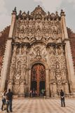 Cathédrale de Mexico Photo libre de droits