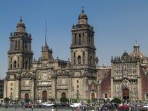 Cathédrale de Mexico, Mexique photographie stock