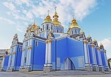 Cathédrale de Michael de saint à Kiev Image stock